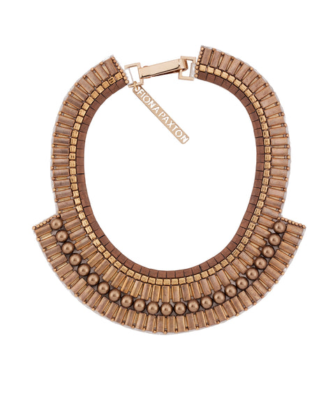 Sylvia Collar Necklace Gold