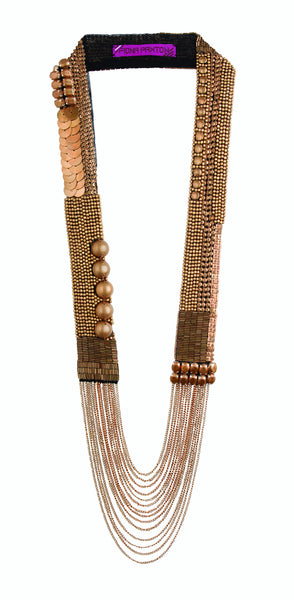 Sylvie Necklace Rose Gold