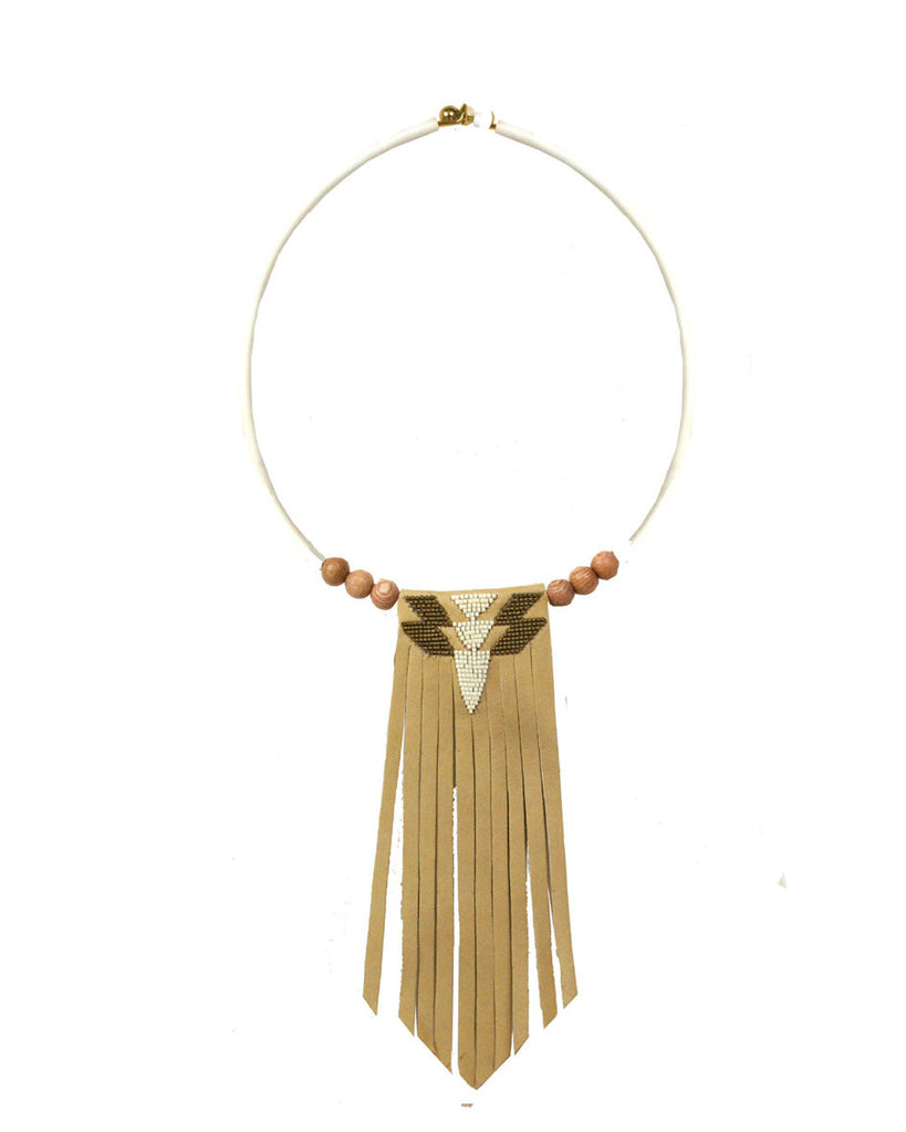 Yasmine Tan torque necklace