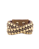 Bernadette Double Wrap Cuff Gold