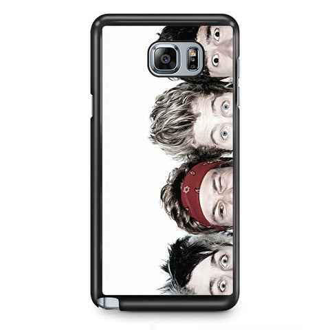 5 Second Of Summer Head TATUM-64 Samsung Phonecase Cover Samsung Galaxy Note 2 Note 3 Note 4 Note 5 Note Edge