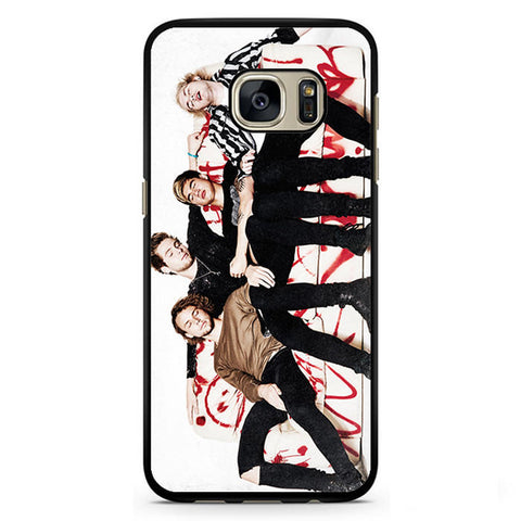 5 Second Of Summer Great Style TATUM-63 Samsung Phonecase Cover Samsung Galaxy S3, Galaxy S4, Galaxy S5, Galaxy S6, Galaxy S7