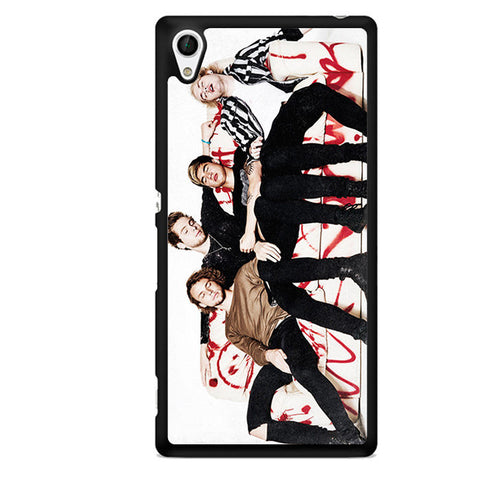 5 Second Of Summer Great Style TATUM-63 Sony Phonecase Cover For Xperia Z1, Xperia Z2, Xperia Z3, Xperia Z4, Xperia Z5