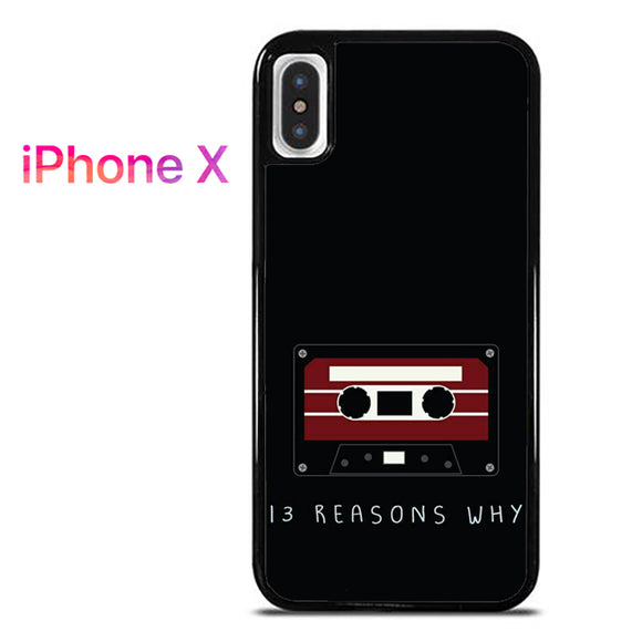 13 Reasons Why AB - iPhone X Case - Tatumcase