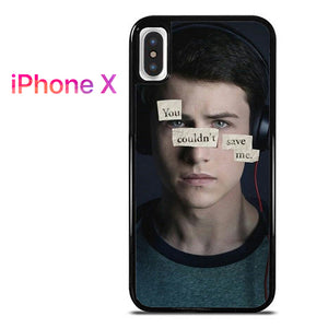 13 Reasons Why Clay 2 AB - iPhone X Case - Tatumcase