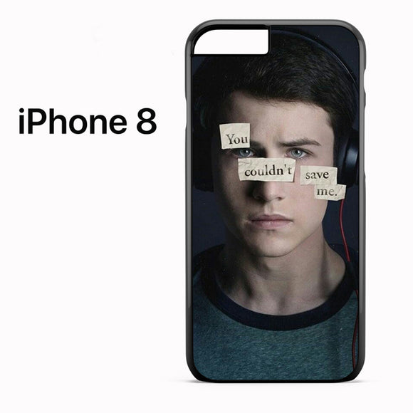 13 Reasons Why Clay 2 AB - iPhone 8 Case - Tatumcase
