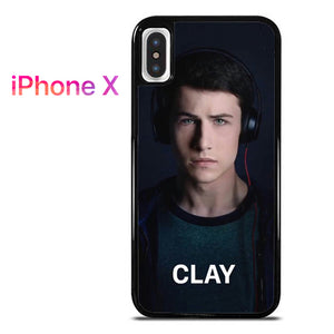 13 Reasons Why Clay AB - iPhone X Case - Tatumcase