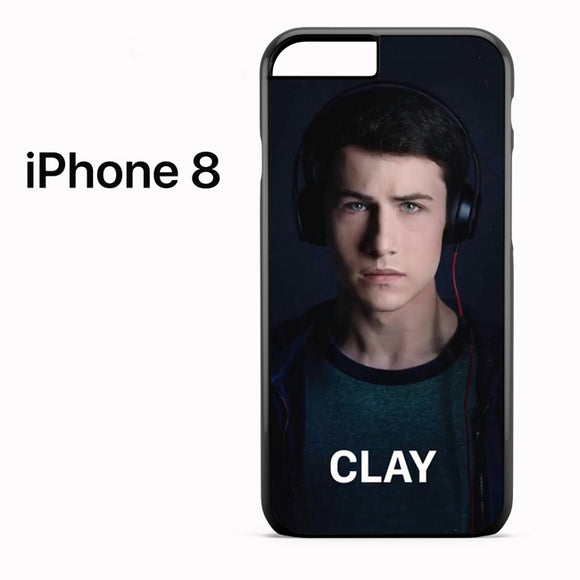 13 Reasons Why Clay AB - iPhone 8 Case - Tatumcase