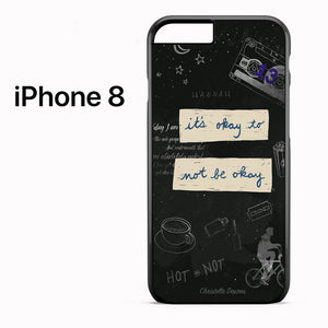 13 Reasons Why Quotes AB - iPhone 8 Case - Tatumcase