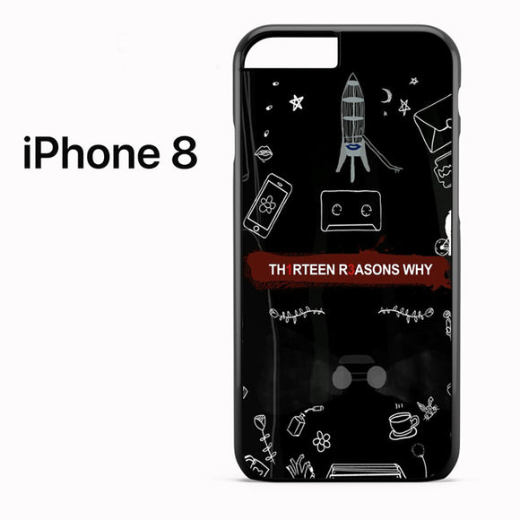 13 Reasons Why Things AB - iPhone 8 Case - Tatumcase