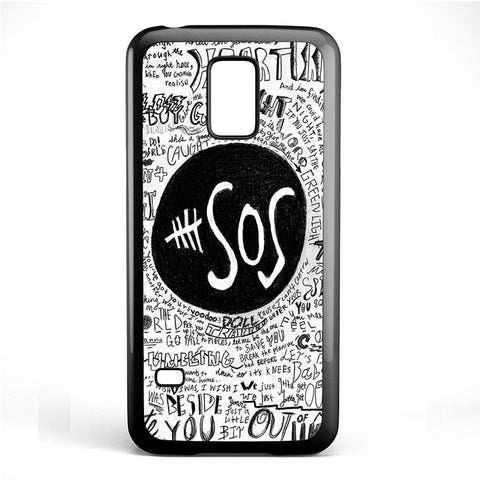 5 Second Of Summer The Music Band TATUM-68 Samsung Phonecase Cover Samsung Galaxy S3 Mini Galaxy S4 Mini Galaxy S5 Mini