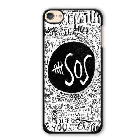 5 Second Of Summer The Music Band TATUM-68 Apple Phonecase Cover For Ipod Touch 4, Ipod Touch 5, Ipod Touch 6