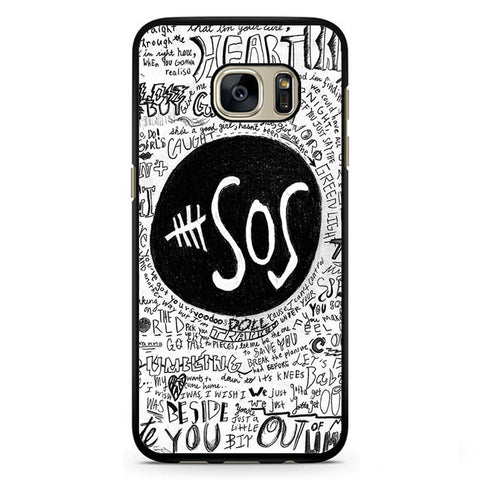 5 Second Of Summer The Music Band TATUM-68 Samsung Phonecase Cover Samsung Galaxy S3, Galaxy S4, Galaxy S5, Galaxy S6, Galaxy S7