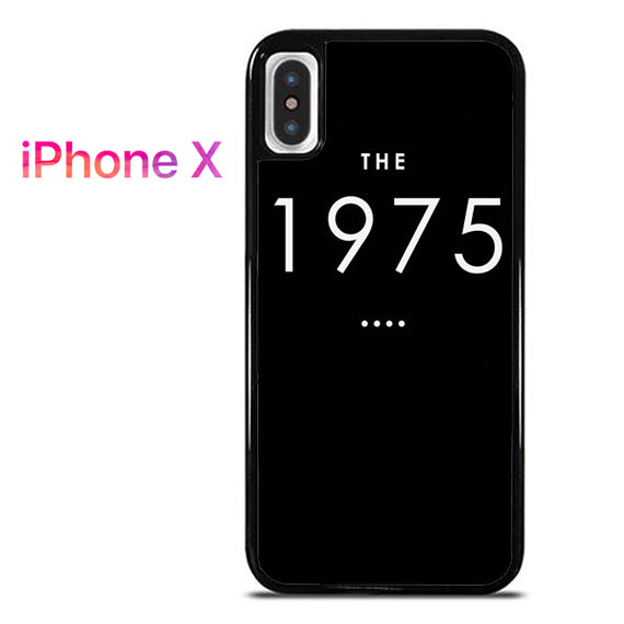 1975 - iPhone X Case - Tatumcase