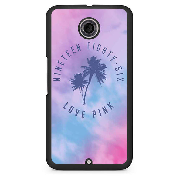 1986 Love Pink TATUM-06 Google Phonecase Cover For Nexus 4, Nexus 5, Nexus 6 - tatumcase