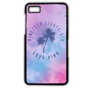 1986 Love Pink TATUM-06 Blackberry Phonecase Cover For Blackberry Q10, Blackberry Z10 - tatumcase
