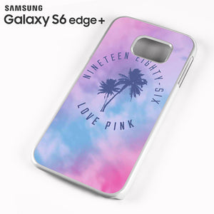 1986 Love Pink - Samsung Galaxy S6 Edge Plus Case - Tatumcase