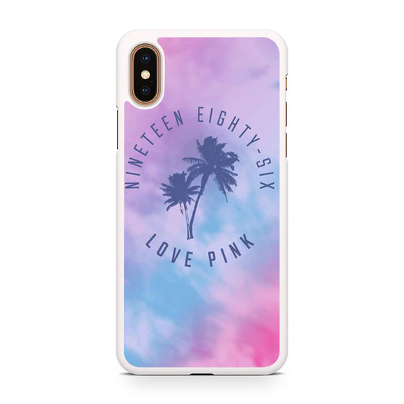 1986 Love Pink, Custom Phone Case, iPhone Case, iPhone XS Case