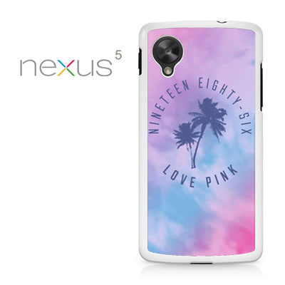 1986 Love Pink - Nexus 5 Case - Tatumcase