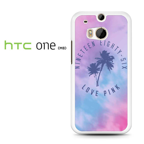 1986 Love Pink - HTC M8 Case - Tatumcase
