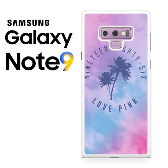 1986 Love Pink - Samsung Galaxy NOTE 9 Case - Tatumcase