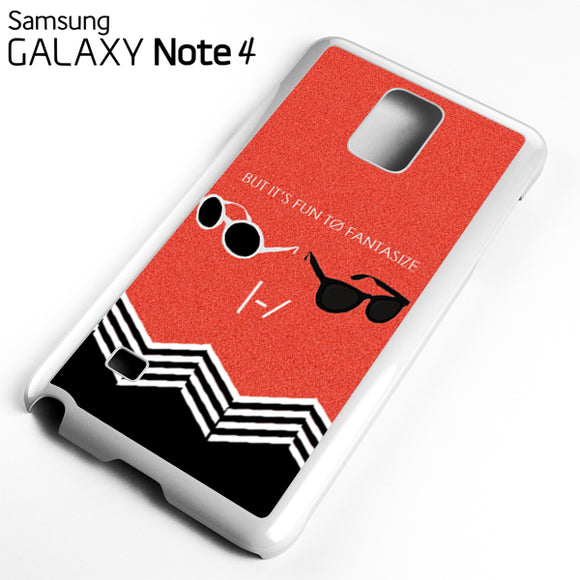 21 Pilots But its Fun - Samsung Galaxy Note 4 Case - Tatumcase