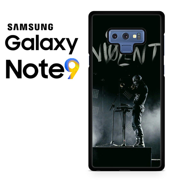 21 Pilots Quiet Is Violent - Samsung Galaxy NOTE 9 Case - Tatumcase