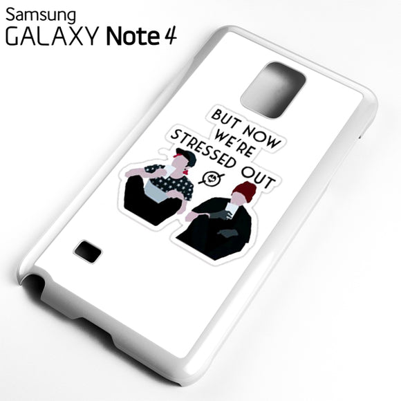 21 Pilots Stressed Out - Samsung Galaxy Note 4 Case - Tatumcase