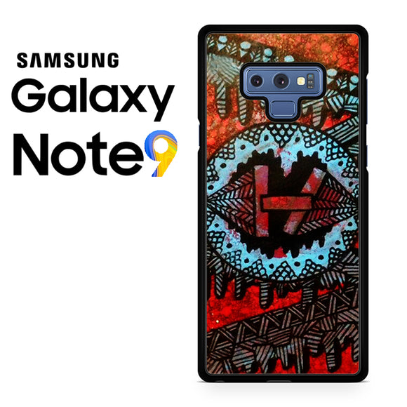 21 Pilots with art logo - Samsung Galaxy NOTE 9 Case - Tatumcase