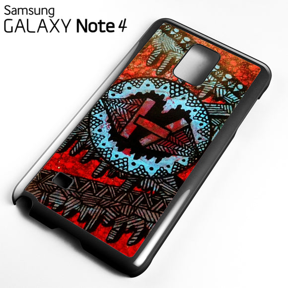 21 Pilots with art logo - Samsung Galaxy Note 4 Case - Tatumcase