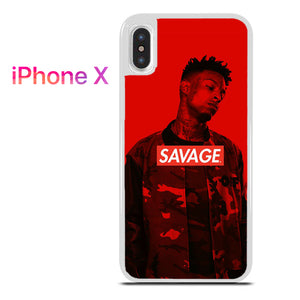 21 Savage 3 GT - iPhone X Case - Tatumcase