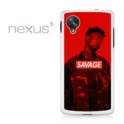 21 Savage 3 GT - Nexus 5 Case - Tatumcase