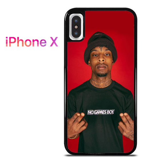 21 Savage GT - iPhone X Case - Tatumcase