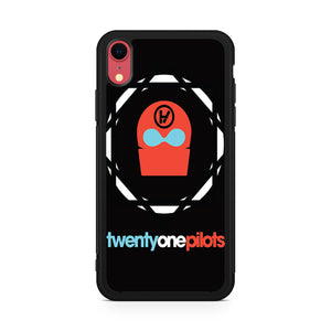 21 pilots band logo,Custom Phone Case, iPhone XR Case, Tatumcase