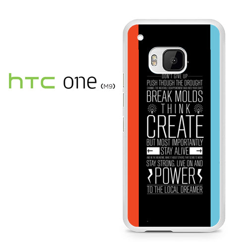 21 pilots band quotes - HTC ONE M9 Case - Tatumcase