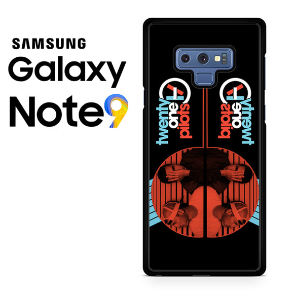 21 pilots band - Samsung Galaxy NOTE 9 Case - Tatumcase