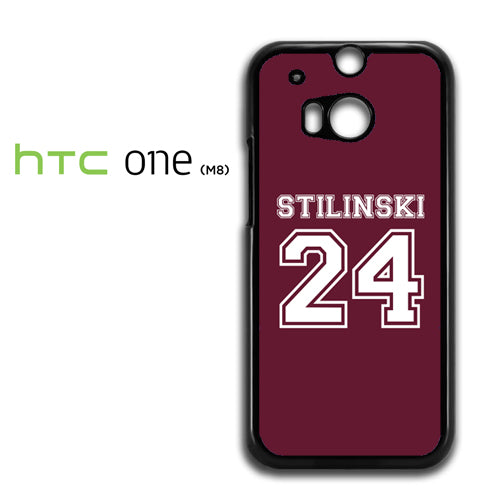 24 Stilinski Teen Wolf - HTC M8 Case - Tatumcase