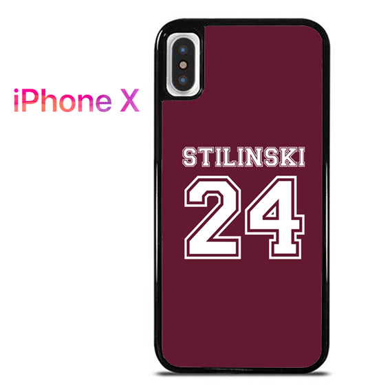 24 Stilinski Teen Wolf - iPhone X Case - Tatumcase