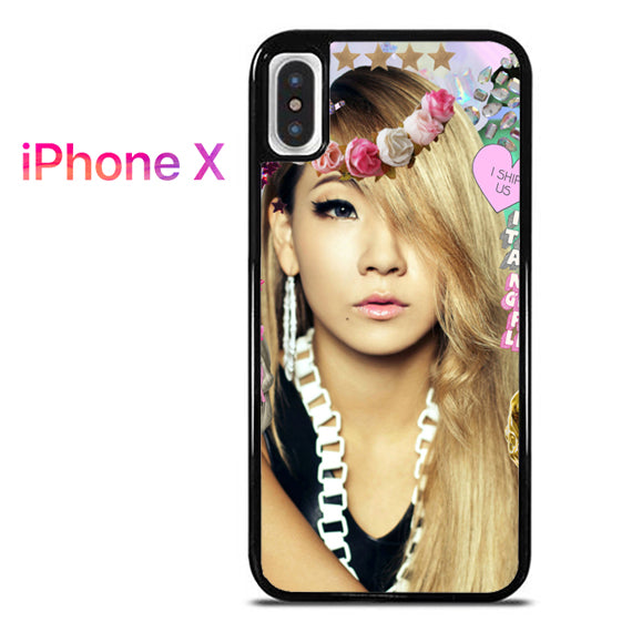 2NE1 CL - iPhone X Case - Tatumcase