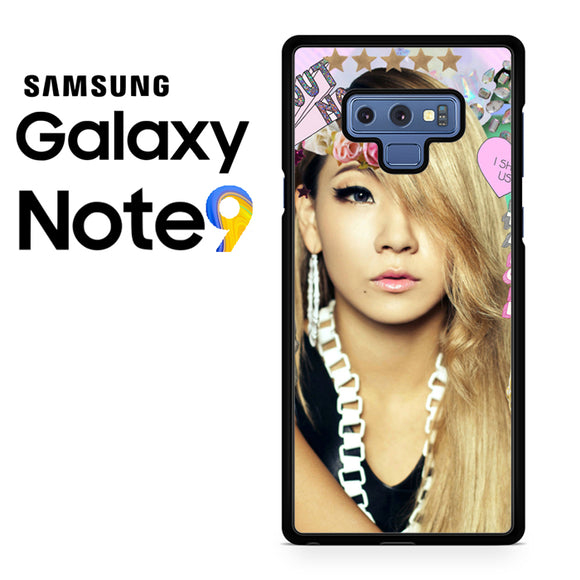 2NE1 CL - Samsung Galaxy NOTE 9 Case - Tatumcase
