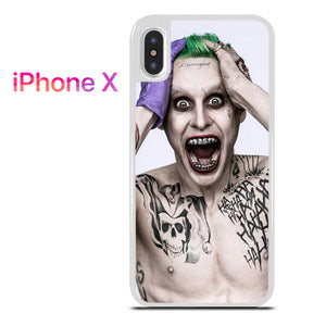 30 Seconds To Mars As Joker - iPhone X Case - Tatumcase