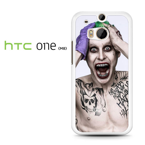 30 Seconds To Mars As Joker - HTC M8 Case - Tatumcase