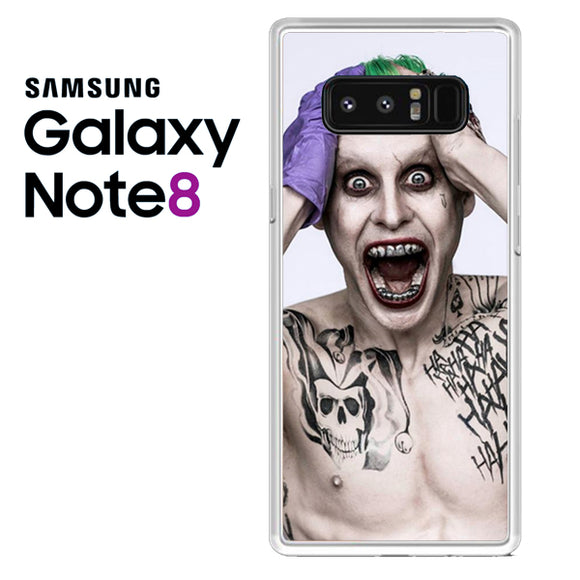 30 Seconds To Mars As Joker - Samsung Galaxy Note 8 Case - Tatumcase