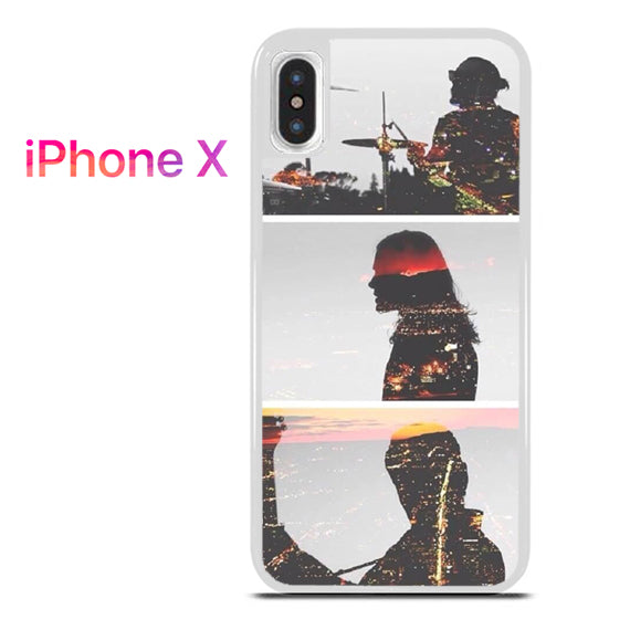 30 Seconds To Mars City Of Angels - iPhone X Case - Tatumcase