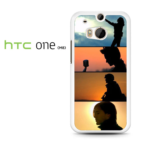 30 Seconds To Mars Cool Band - HTC M8 Case - Tatumcase