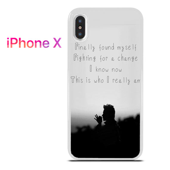 30 Seconds To Mars Found My Self - iPhone X Case - Tatumcase