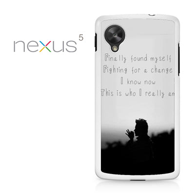 30 Seconds To Mars Found My Self - Nexus 5 Case - Tatumcase