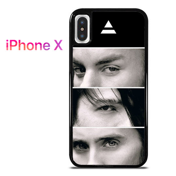 30 Seconds To Mars Members - iPhone X Case - Tatumcase
