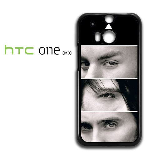 30 Seconds To Mars Members - HTC M8 Case - Tatumcase