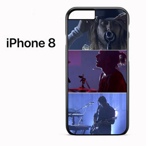 30 Seconds To Mars On Stage - iPhone 8 Case - Tatumcase